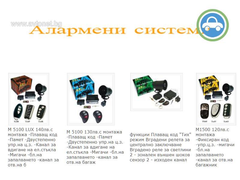 Алармени системи - Плевен - 1