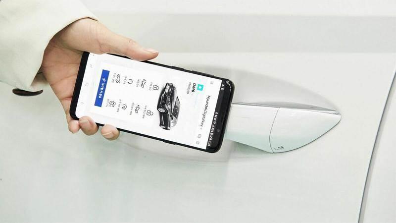 Смартфонът прави ключа на колата ненужен